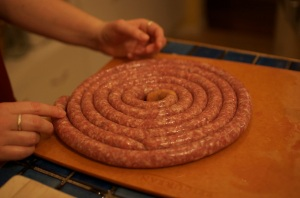 Coiled Sausage