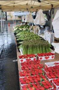 West Hollywood farmer's market