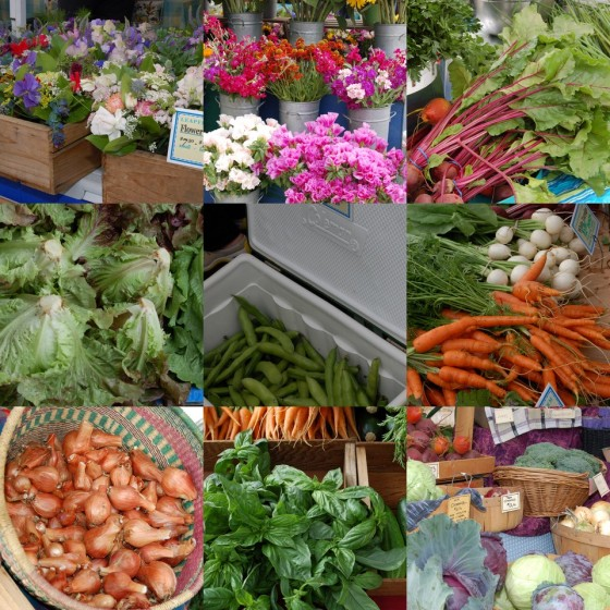 A few scenes from last year's market to tempt you.