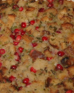 cranberry chestnut stuffing