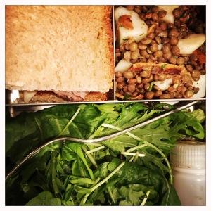 lentil lunchbox